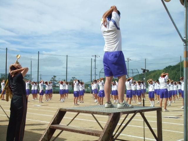富山中学校運動会