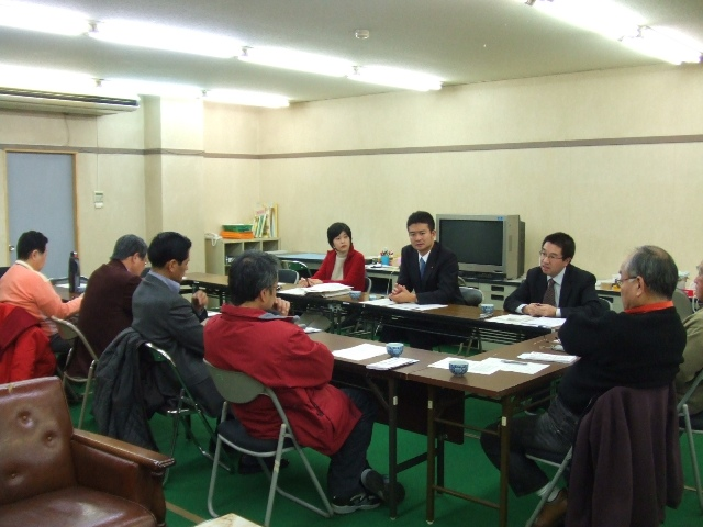 民主党岡山県第2区総支部常任幹事会